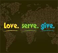 Image showing Seva as Love, Serve, Give
